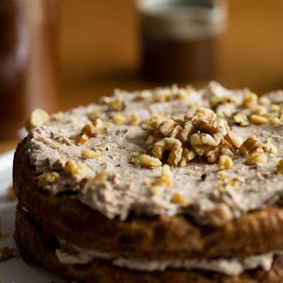 Honey Walnut Celeriac Cake Recipe