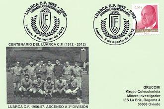 Photo: Mtasellos del Centenario del Luarca Club de Fútbol