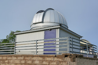 Photo: This building is the Sylvia A. Casby Observatory, which has been operational since 2013.