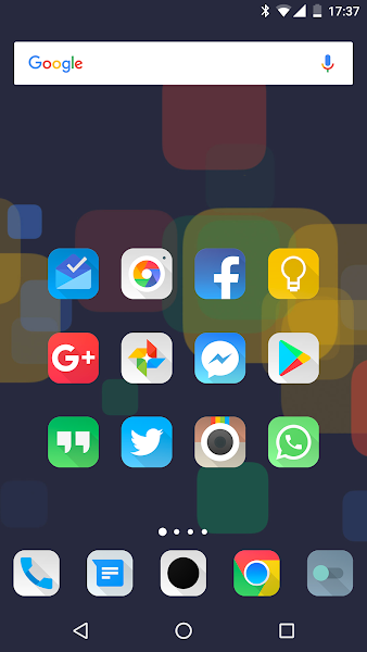 Aurora UI Square – Icon Pack v6.8