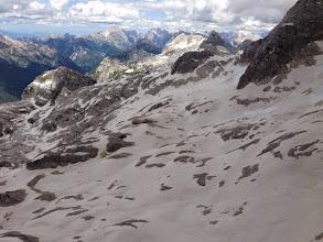 Photo: Kaninski ledenjak sa pogledom na Triglav, Jalovec i Mangart