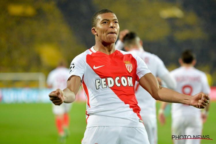 Monaco laat geen steek vallen en zet dankzij Mbappe (met record) en Dirar nieuwe stap richting titel