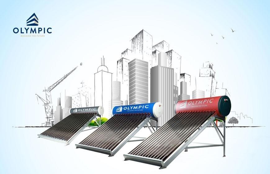 Máy nước nóng năng lượng mặt trời Olympic - sản phẩm chất lượng hàng đầu