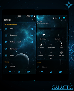 Galactic - CM13/12.X Theme screenshot 0