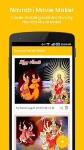 Navratri photo to video with music | movie maker - náhled