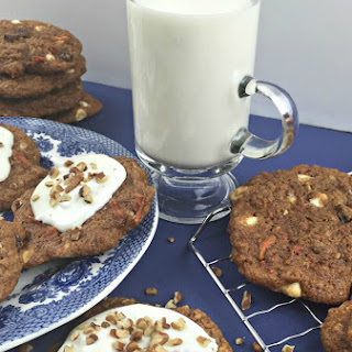Best EVER Carrot Cake Mix Cookies Recipe