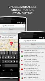 what3words - screenshot thumbnail