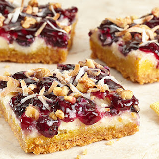 Blueberry Lemon Snack Bars.