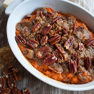 Sweet Potato Brown Sugar Pecan Bake