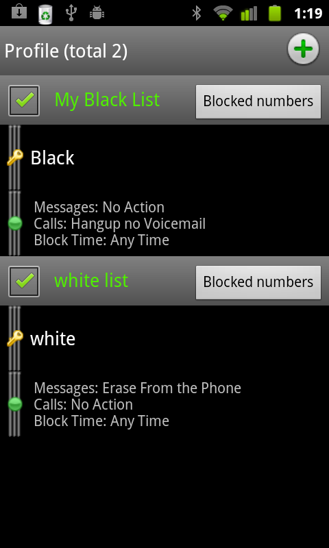 Extreme Call Blocker- screenshot