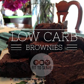 Low Carb Brownies.