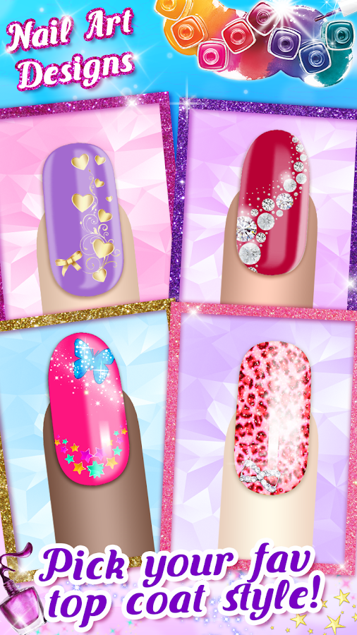 Nail art designs game android apps on google play nail art designs game screenshot prinsesfo Choice Image