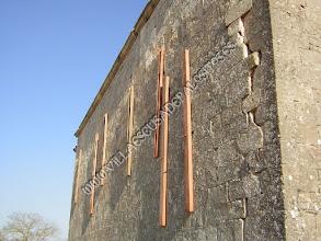 Photo: Muro norte en grave peligro.