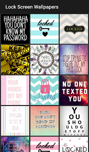 Lock Screen Wallpapers 1.0 screenshots 1