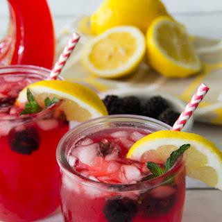 Summer Blackberry Lemonade.