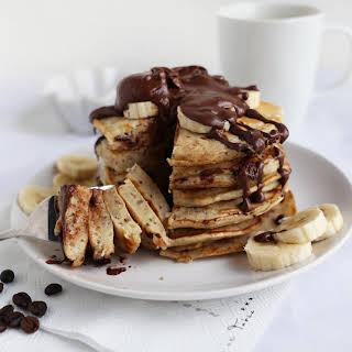 Vegan Chocolate Chip Pancakes.