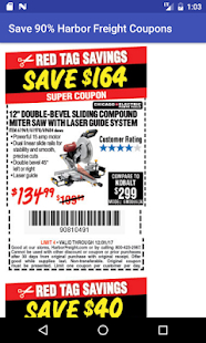 Coupons for Harbor Freight Tools - náhled