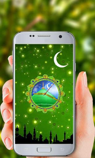 Islamic Clock Live Wallpaper screenshot 3