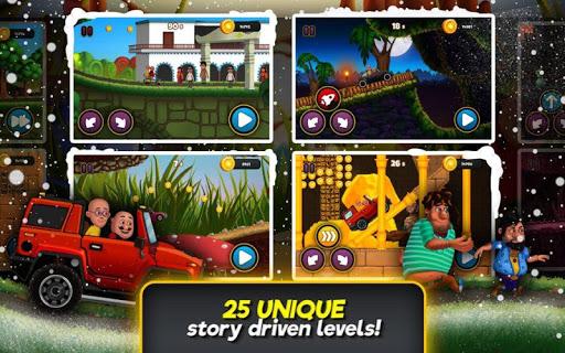Motu Patlu Speed Racing  captures d'écran 2