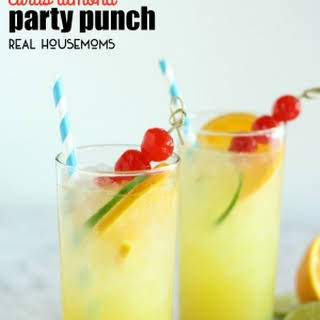 Citrus Almond Party Punch.