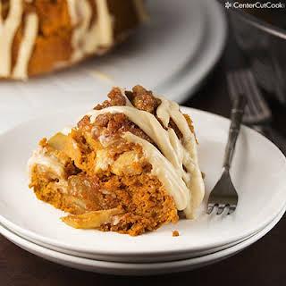 Pumpkin Apple Spice Cake.