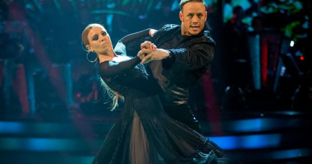 Kevin Clifton pays tribute to Stacey Dooley