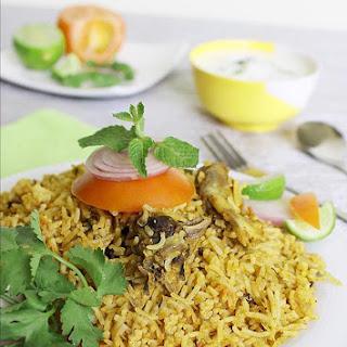 Mutton Biryani Recipe - How To Make Mutton Biryani