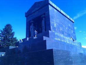 Photo: Tomb of the Unknown Soldier on the top of Avala.