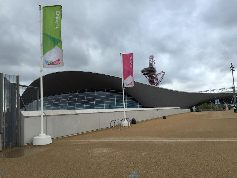 ロンドンオリンピック Aquatics Centre