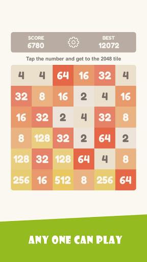 Tap 2048 - worldwide poplar game apkdebit screenshots 3