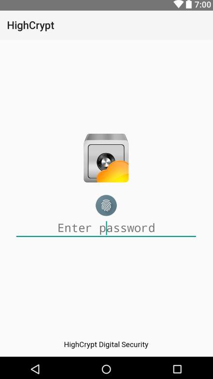 HighCrypt Password Manager LT- screenshot