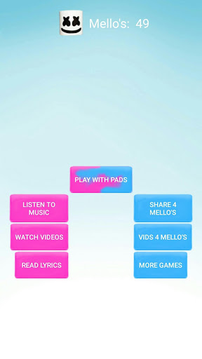 Marshmello Alone Music Pad for PC