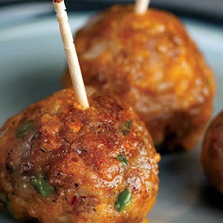 Maple Sausage Apple Cheese Balls