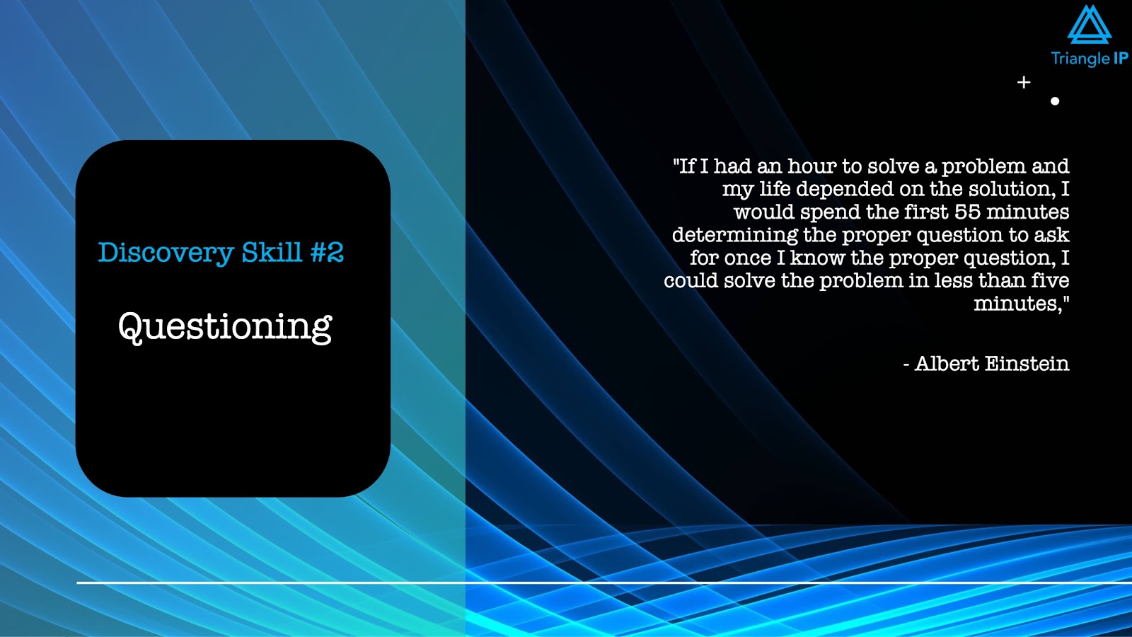Disruptive Innovators | Discovery Skill #2 Questioning