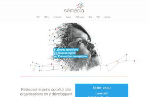 site internet réalisée par Séménia