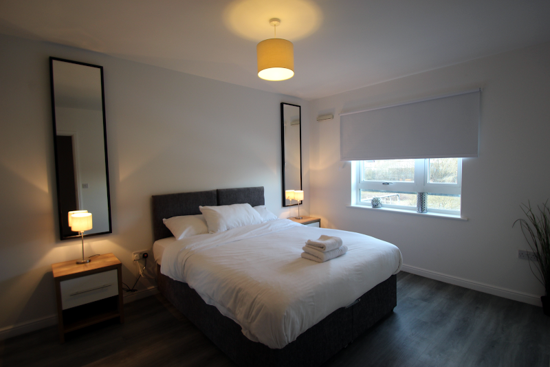 Luxury bedroom at West House