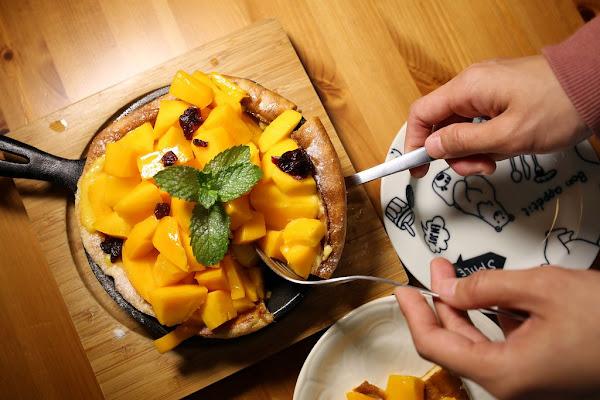 戀家咖啡慢食手作教室。芒果海的逆襲,春季必吃芒果、鳳梨手作料理!。 高雄早午餐。桑尼瘦不了