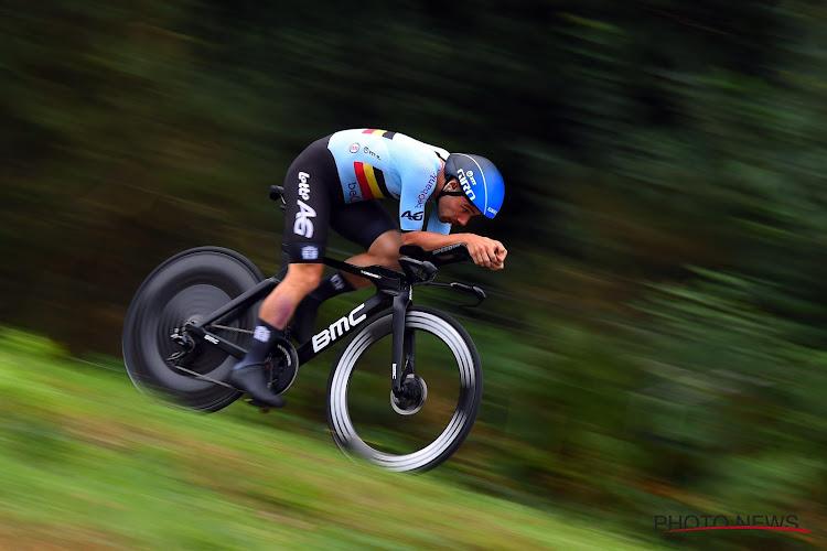 Zéér ongelukkige EK-start voor Mixed Team Belgium: tempo Campenaerts te hoog voor De Plus, ook nog valpartij