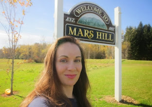 Photo: Mars Hill, Maine!  What a great place for a scale solar system! The LARGEST in the United States, at 100 miles long!