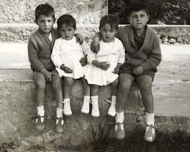 Photo: Toñin, Meliizas y Pedrito.