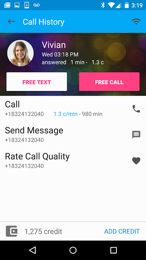 Free Calls & Text Messenger- screenshot