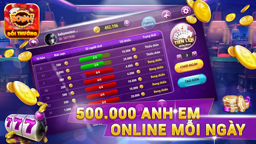 BomH Game Bai Doi Thuong - Ban Ca Online 6.0.5 screenshots 3