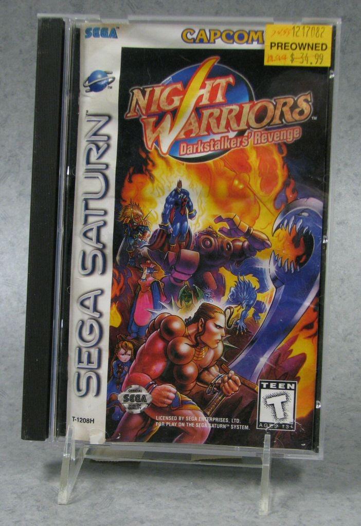 Video game:Sega Saturn Night Warriors: Darkstalkers' Revenge - Sega