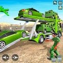 Army Vehicle Transporter Truck Simulator:Army Game icon