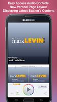 Screenshot of Mark Levin Show