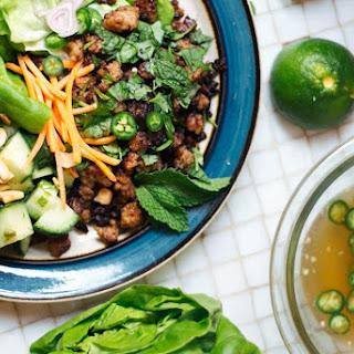 Thai Lettuce Wraps with Larb