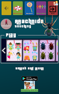 Arachnids touching Screenshot