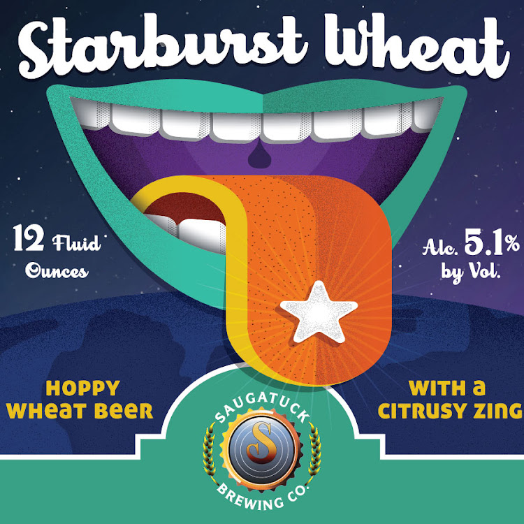 Logo of Saugatuck Starburst Wheat
