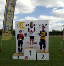 Photo: Jack Ryan, 3rd in Boys U/12 60m Hurdles at Leevale Open Sports 2012