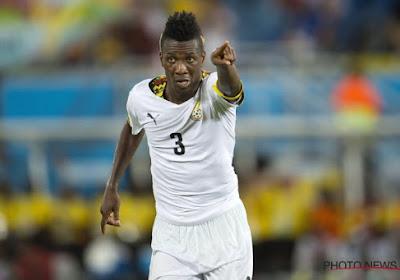 Asamoah Gyan blijft dan toch beschikbaar voor Ghana